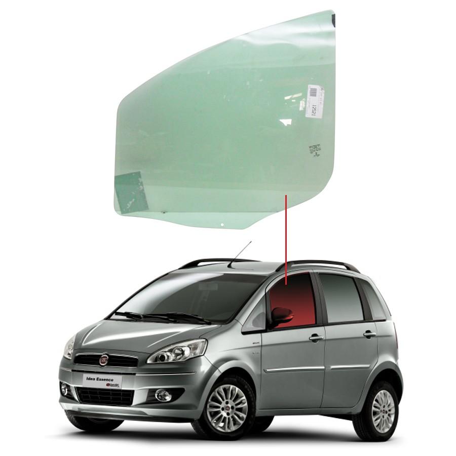 Vidro Porta Dianteira Esquerda Fiat Idea 04/14 Saint Gobain