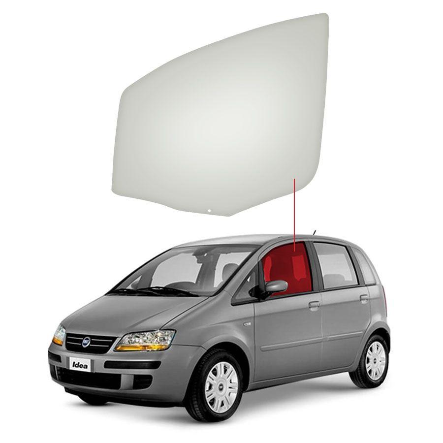 Vidro Porta Dianteira Esquerda Fiat Idea 05/16 Glasstech