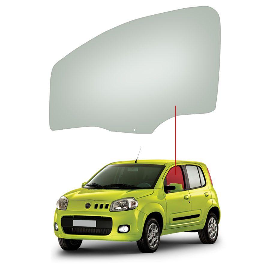Vidro Porta Dianteira Esquerda Fiat Uno 10/20 Tritemp