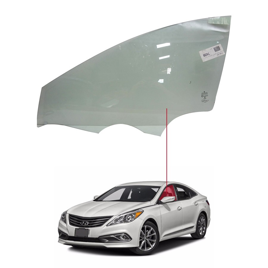 Vidro Porta Dianteira Esquerda Hyundai Azera 12/16  Fanavid