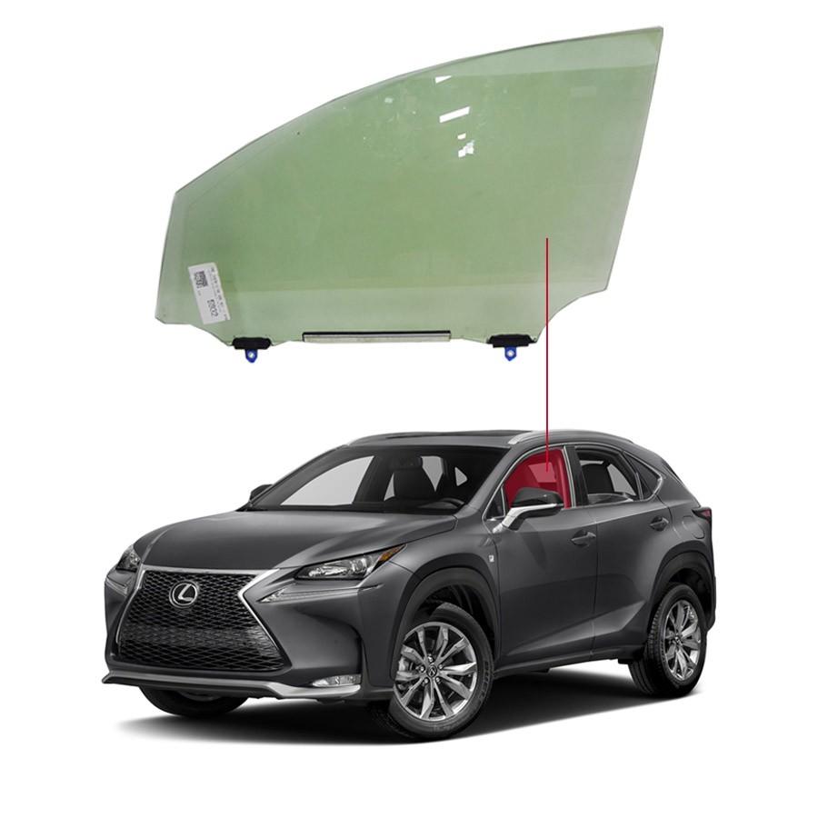 Vidro Porta Dianteira Esquerda Lexus Nx200 15/16 Importadora