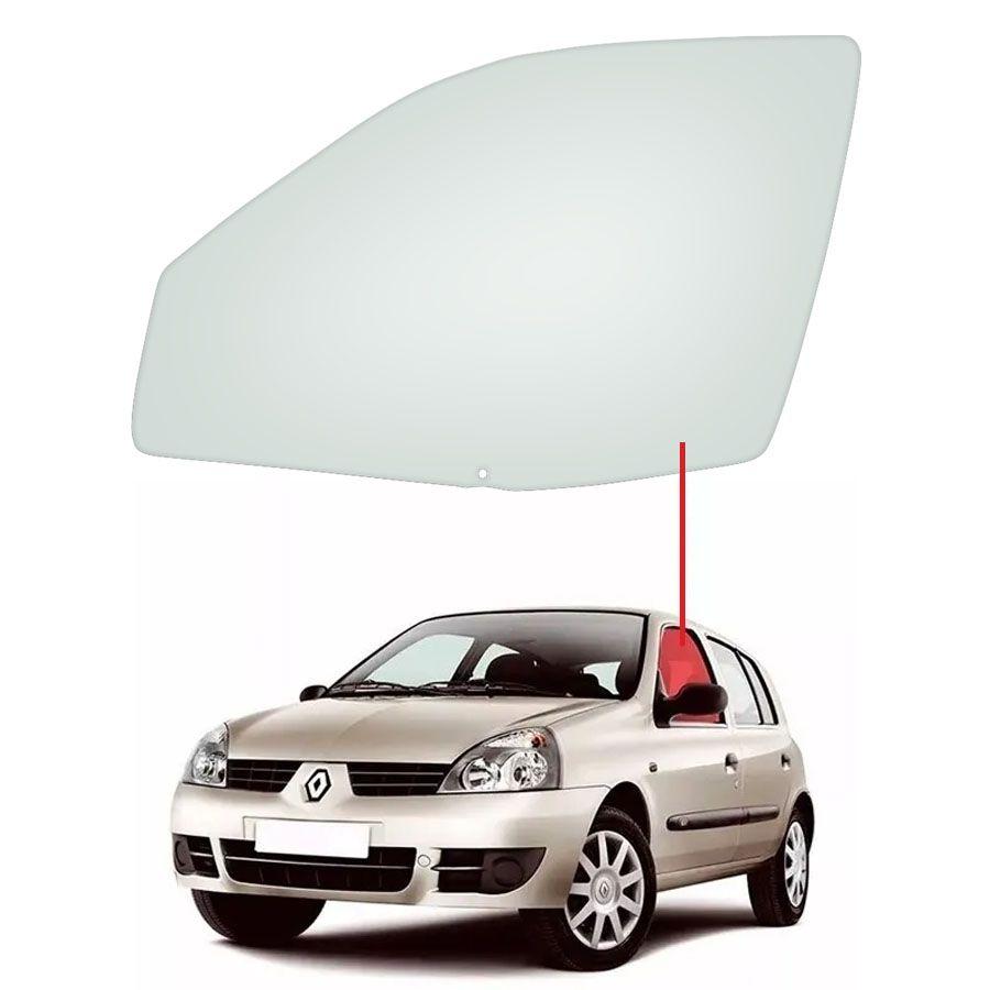 Vidro Porta Dianteira Esquerda Renault Clio 99/08 Tritemp