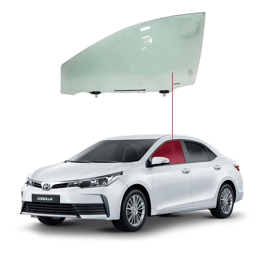 Vidro Porta Dianteira Esquerda Toyota Corolla 14/19 Importadora