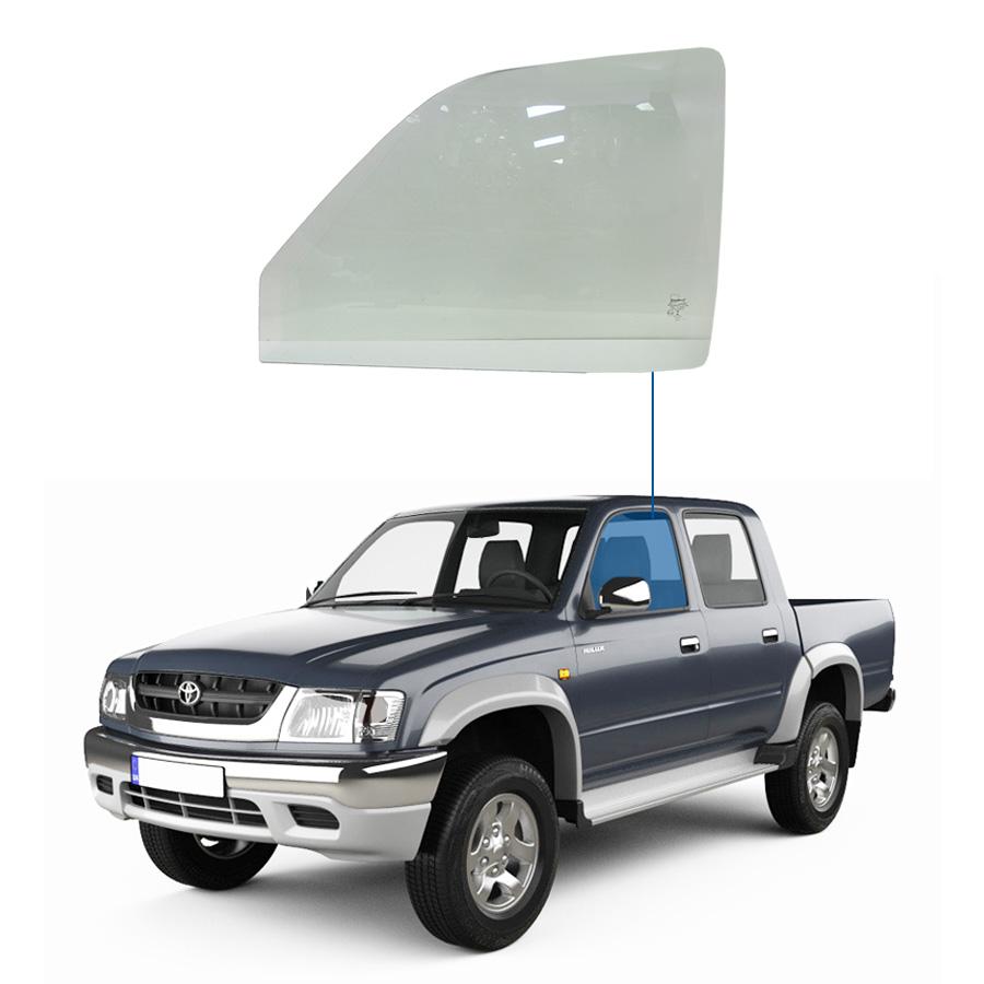 Vidro Porta Dianteira Esquerda Toyota Hilux 92/05 Glasstech