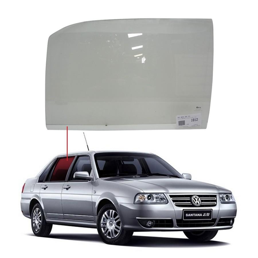 Vidro Porta Dianteira Esquerda Volkswagen Santana 83/97 / Royale 92/98 / Versailles 83/97 Vetroex