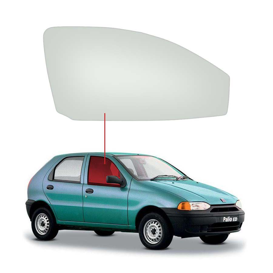 Vidro Porta Dianteira Direita Fiat Palio 96/18 / Weekend 96/19 / Siena 96/11 Tritemp
