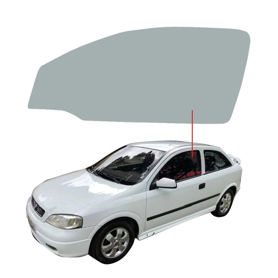 Vidro Porta Esquerda Chevrolet Astra 98/11 Glasstech