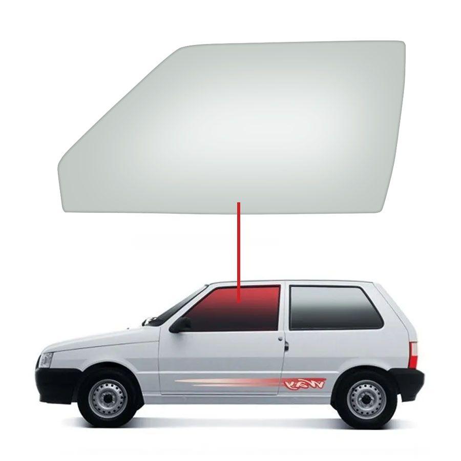 Vidro Porta Esquerda Fiat Uno 84/14 / Elba 84/960 / Prêmio 84/94 Tritemp