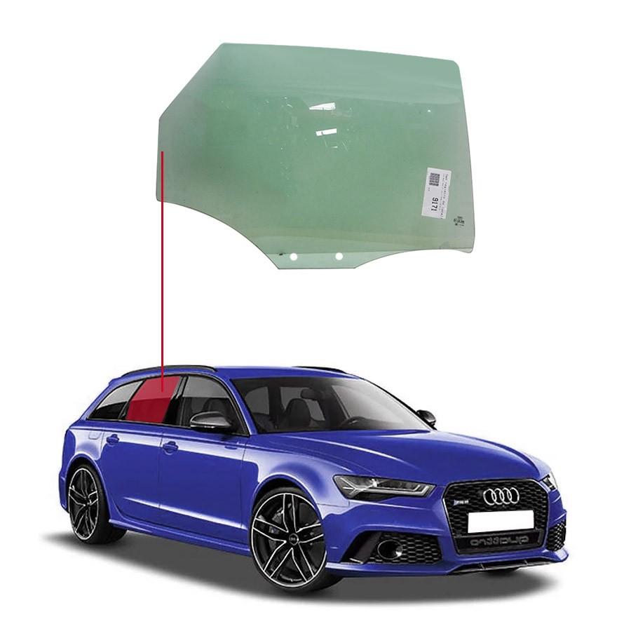 Vidro Porta Traseira Direita Audi RS6 15/17 Importadora
