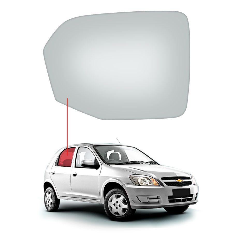 Vidro Porta Traseira Direita Chevrolet Celta 00/15 / Prisma 06/12 Tritemp