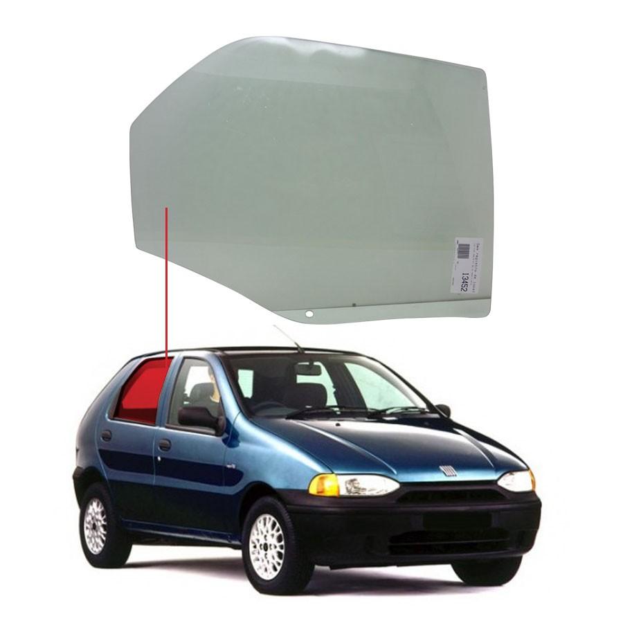 Vidro Porta Traseira Direita Fiat Palio 96/18 / Weekend 96/19 / Siena 98/11 AGC