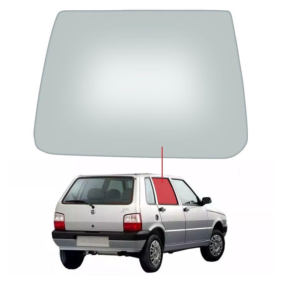 Vidro Porta Traseira Direita Fiat Uno 84/14 / Elba 84/96 / Prêmio 84/94 Tritemp