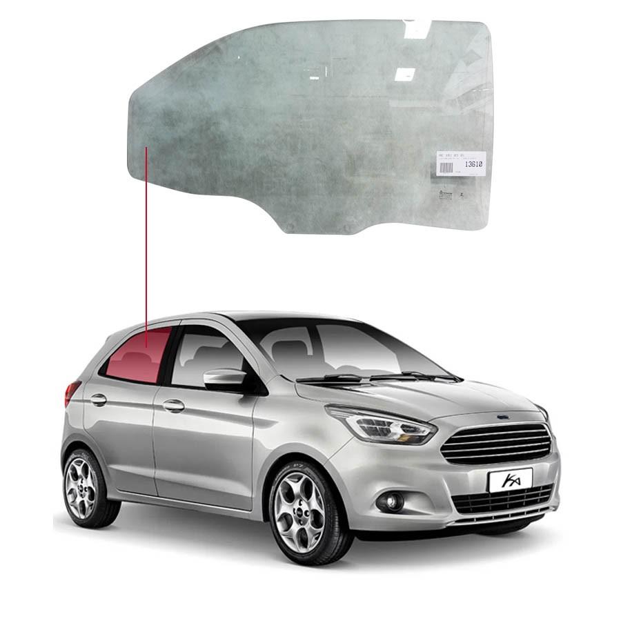 Vidro Porta Traseira Direita Ford Ka+ 14/20 Tritemp