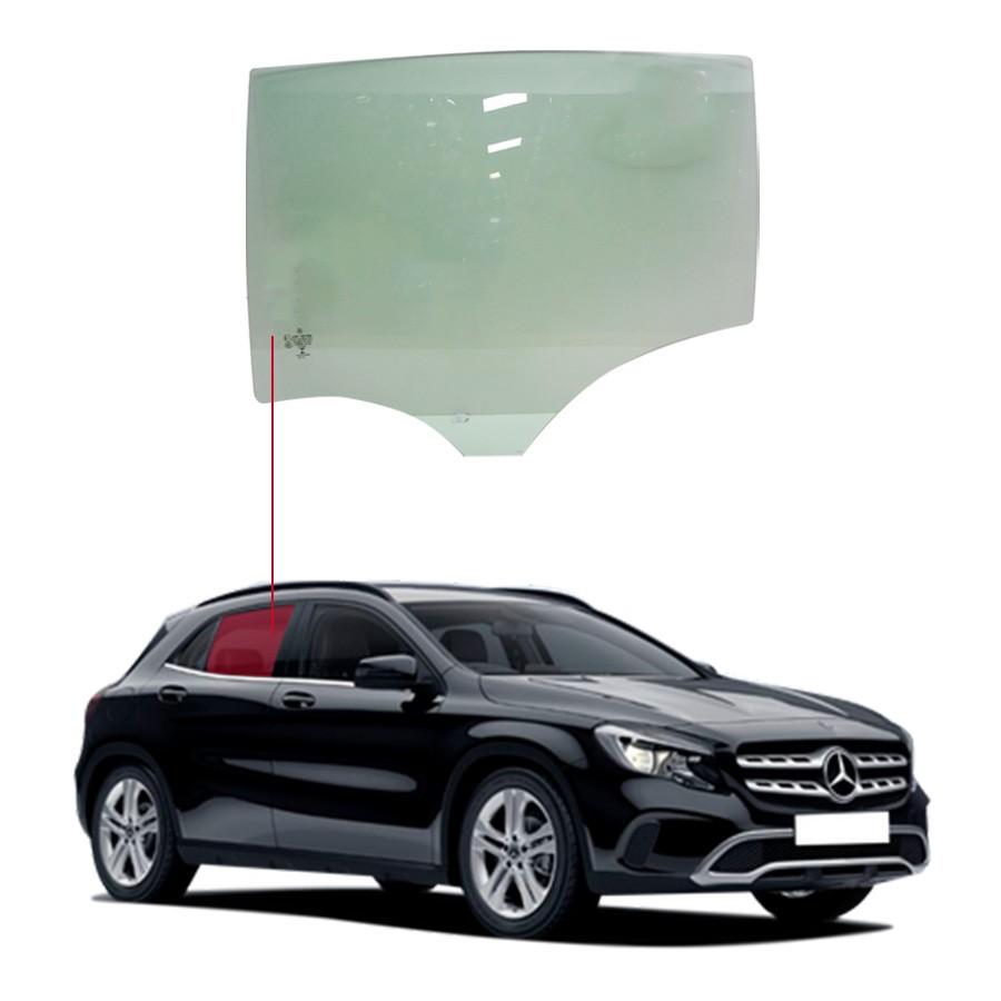 Vidro Porta Traseira Direita Mercedes-Benz Classe GLA 200 14/19 / GLA 250 14/20  Importadora