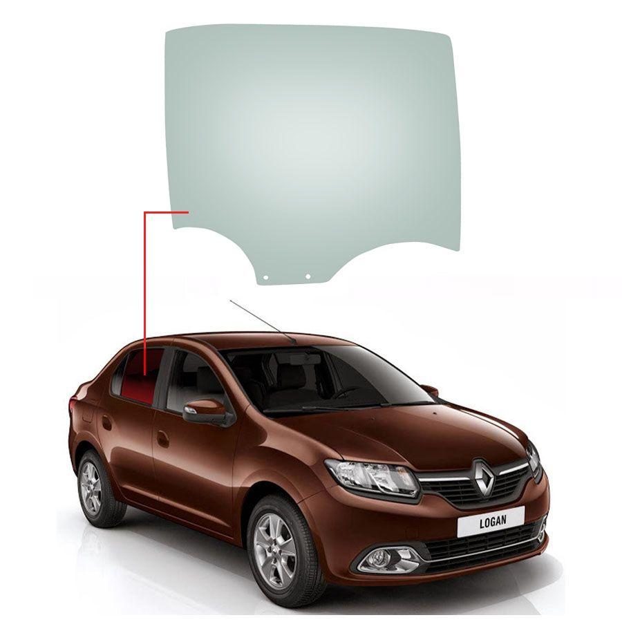 Vidro Porta Traseira Direita Renault Logan 14/20 Saint Gobain