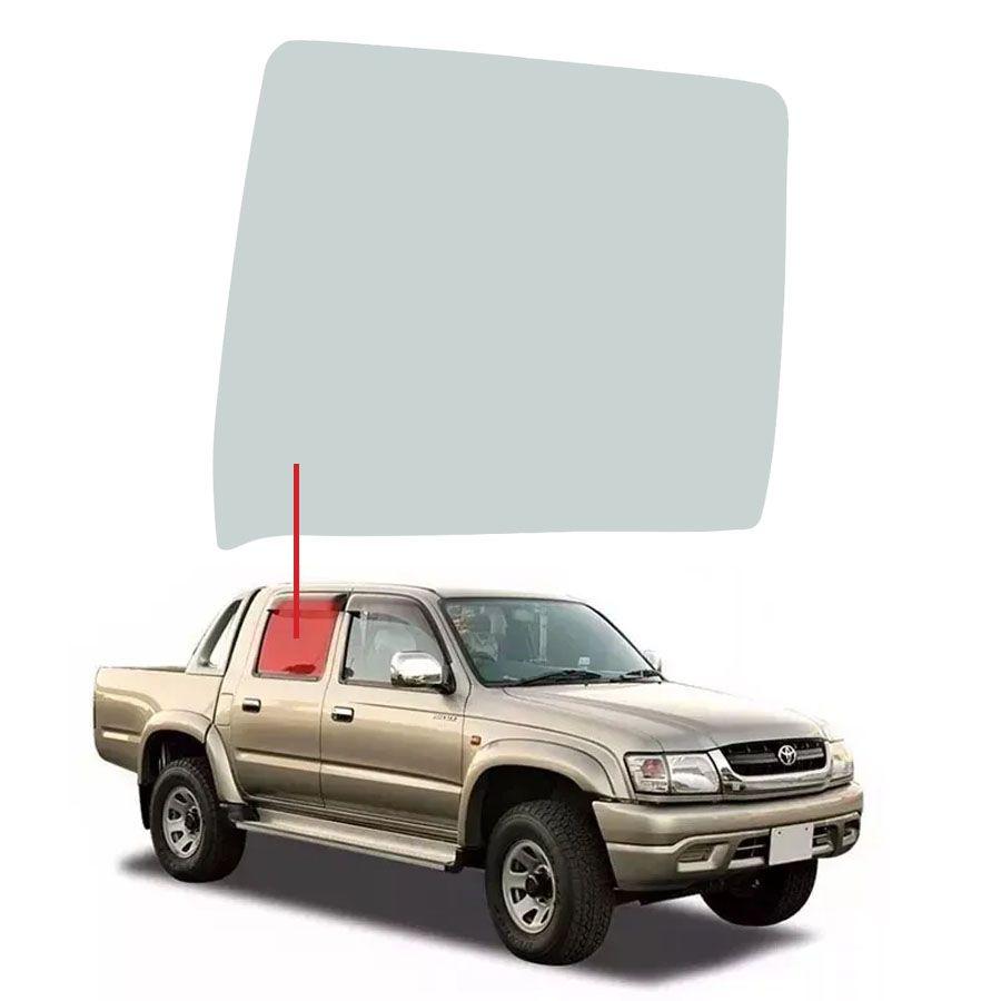 Vidro Porta Traseira Direita Toyota Hilux 92/05 Fanavid