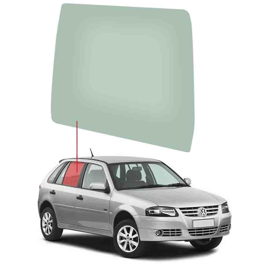Vidro Porta Traseira Direita Volkswagen Gol 94/14 / Parati 96/08 Tritemp