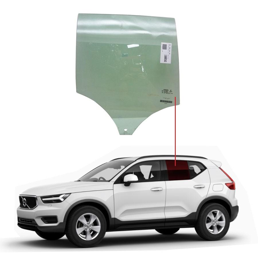 Vidro Porta Traseira Direita Volvo Xc40 18/20 Importadora