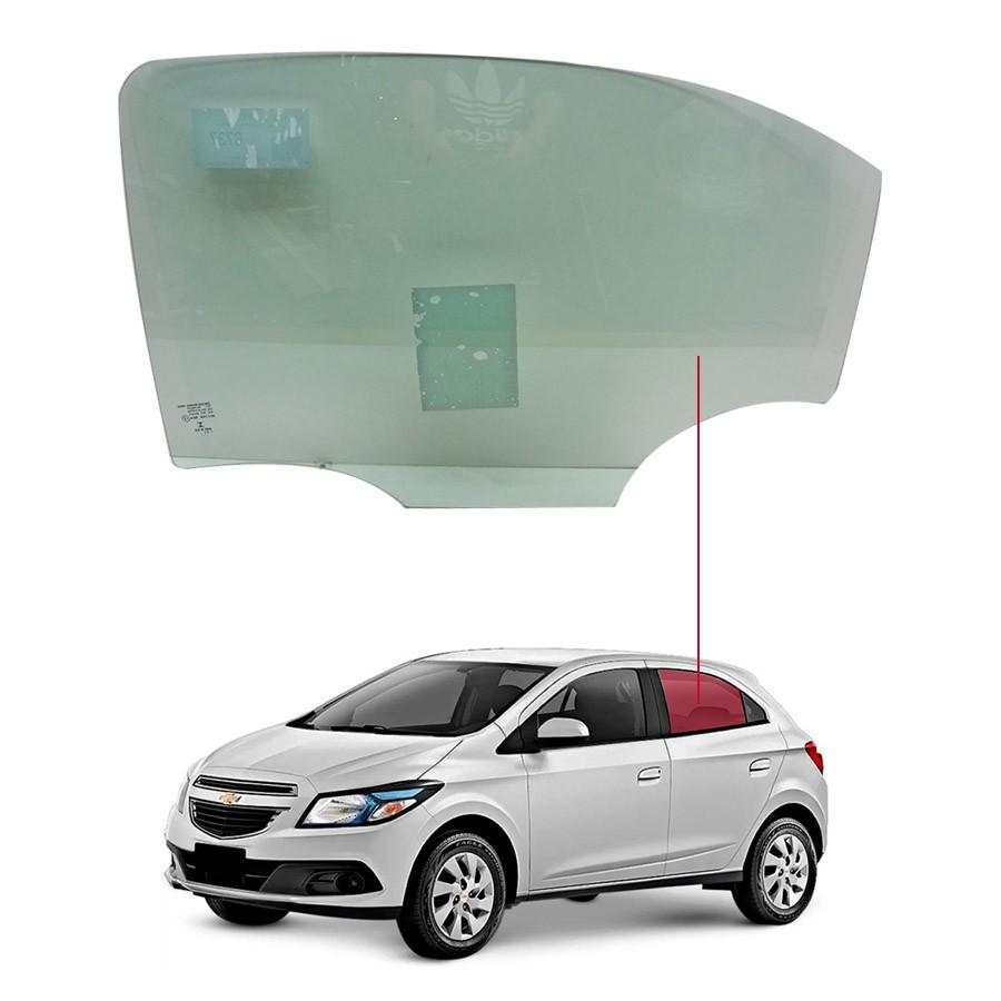Vidro Porta Traseira Esquerda Chevrolet Ônix 12/20 / Prisma 13/20 Saint Gobain
