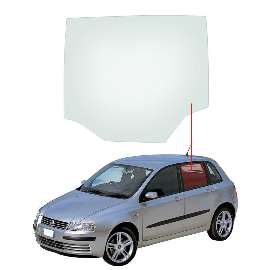 Vidro Porta Traseira Esquerda Fiat Stilo 02/11 Pilkington