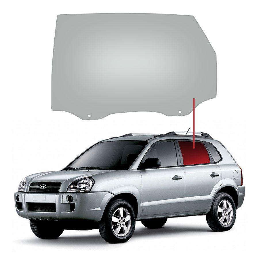 Vidro Porta Traseira Esquerda Hyundai Tucson 04/16 Fanavid