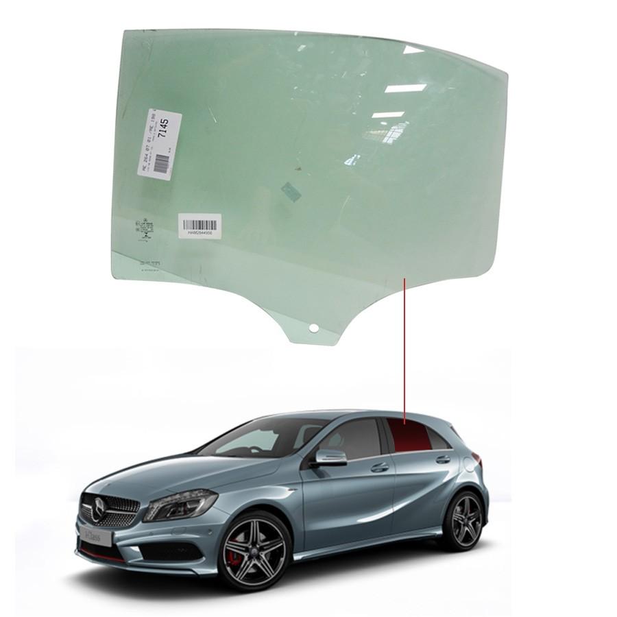 Vidro Porta Traseira Esquerda Mercedes-Benz A 250 13/18 / A 200 12/18 Importadora