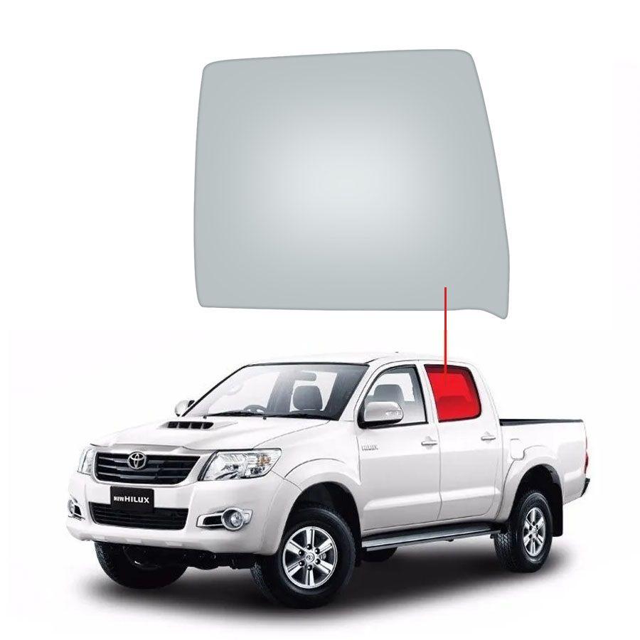 Vidro Porta Traseira Esquerda Toyota Hilux 06/15 Fanavid