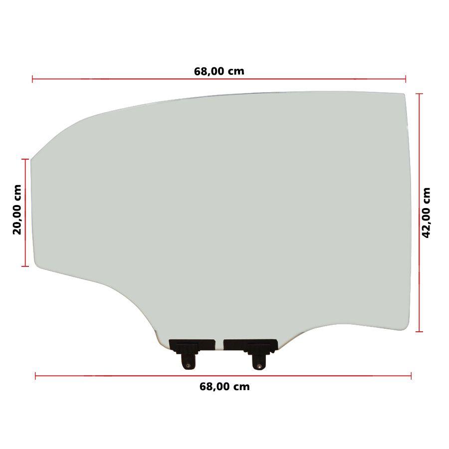 Vidro Porta Traseira Direita Hyundai HB20 20 AGC