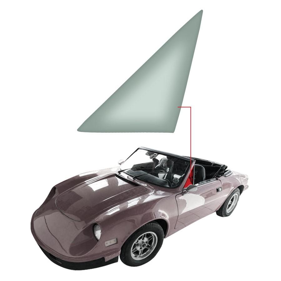 Vidro Quebra-Vento Esquerdo Puma GTE 76/77 / GTS 76/77 Vetroex