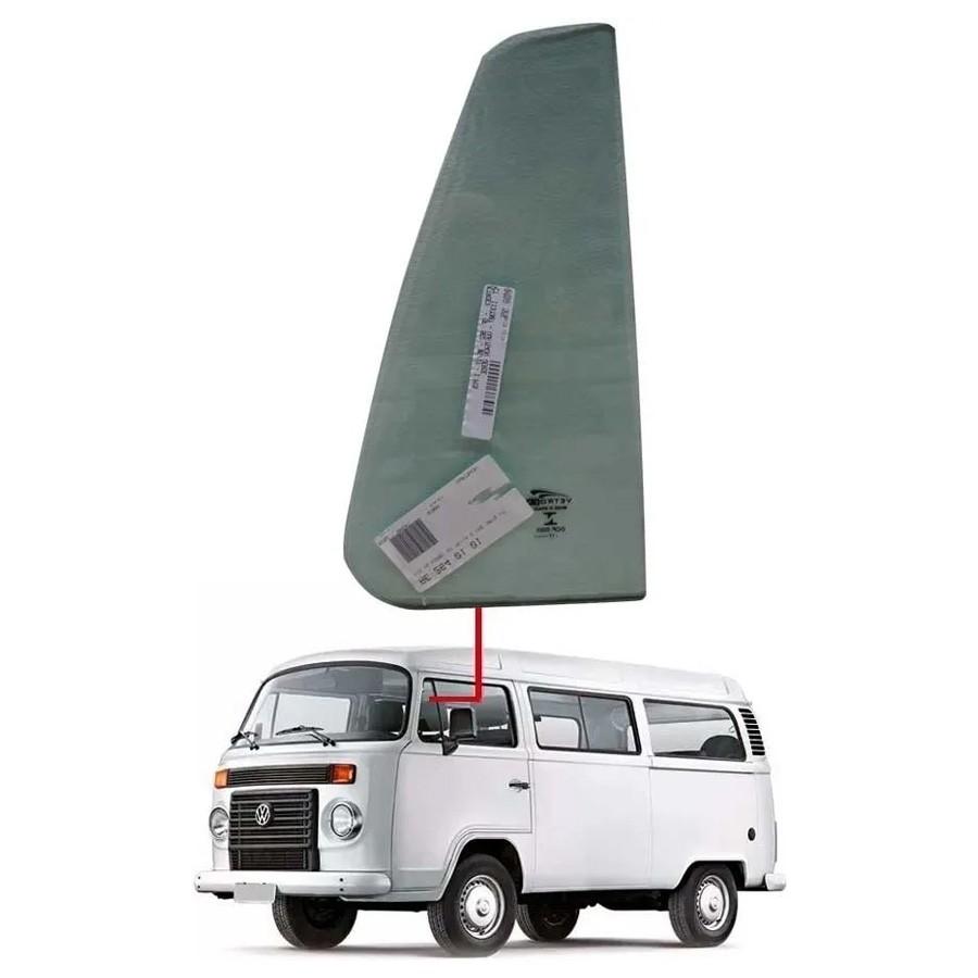 Vidro Quebra-Vento Esquerdo Volkswagen Kombi 75/14 Vetroex