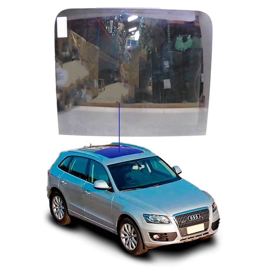 Vidro Teto Solar Móvel Audi Q5 09/12 Importadora