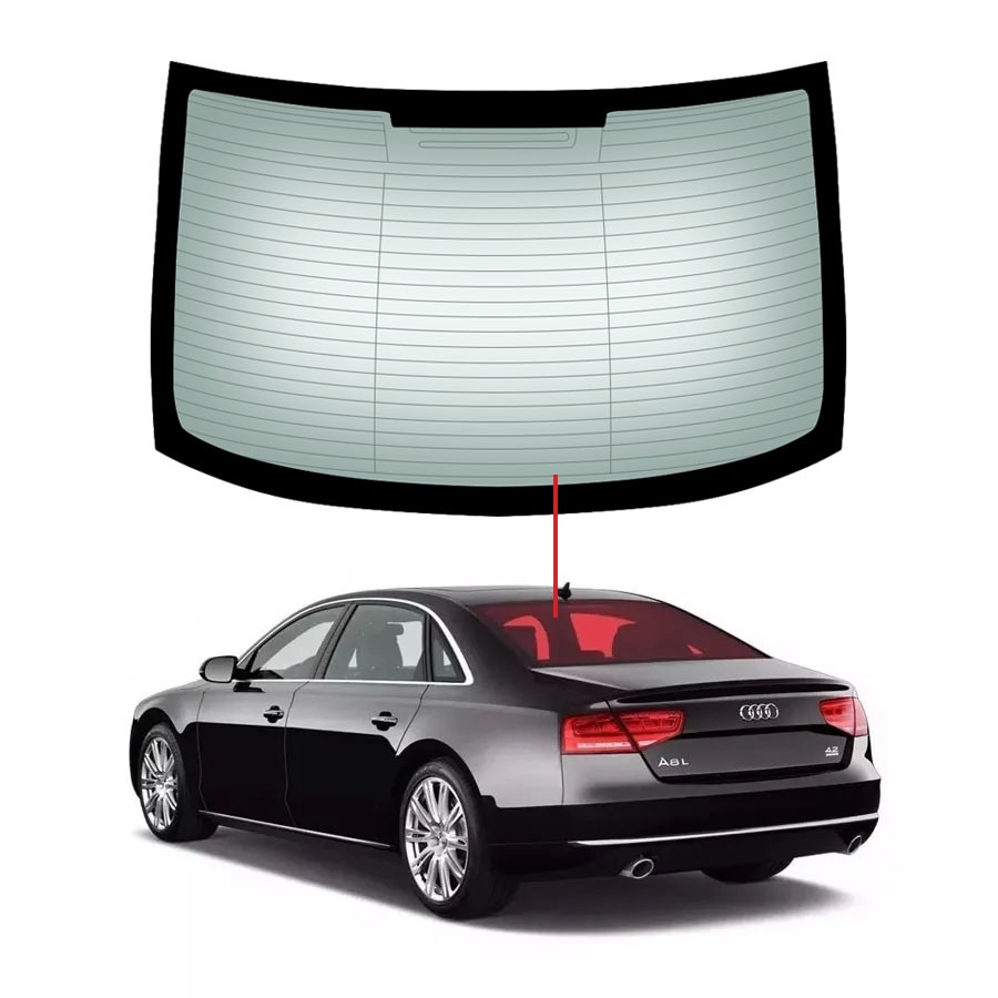 Vidro Traseiro Vigia Audi A8 10/16 Importadora