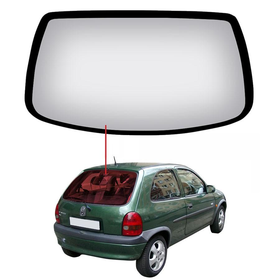 Vidro Traseiro Vigia Chevrolet Corsa 93/00 Glasstech