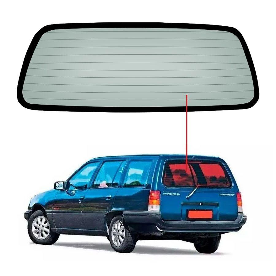Vidro Traseiro Vigia Chevrolet Ipanema 83/91 Vetroex
