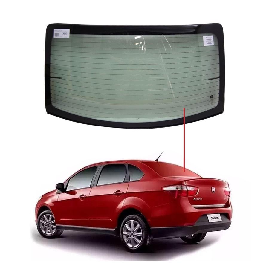 Vidro Traseiro Vigia Fiat Grand Siena 11/20 Pilkington