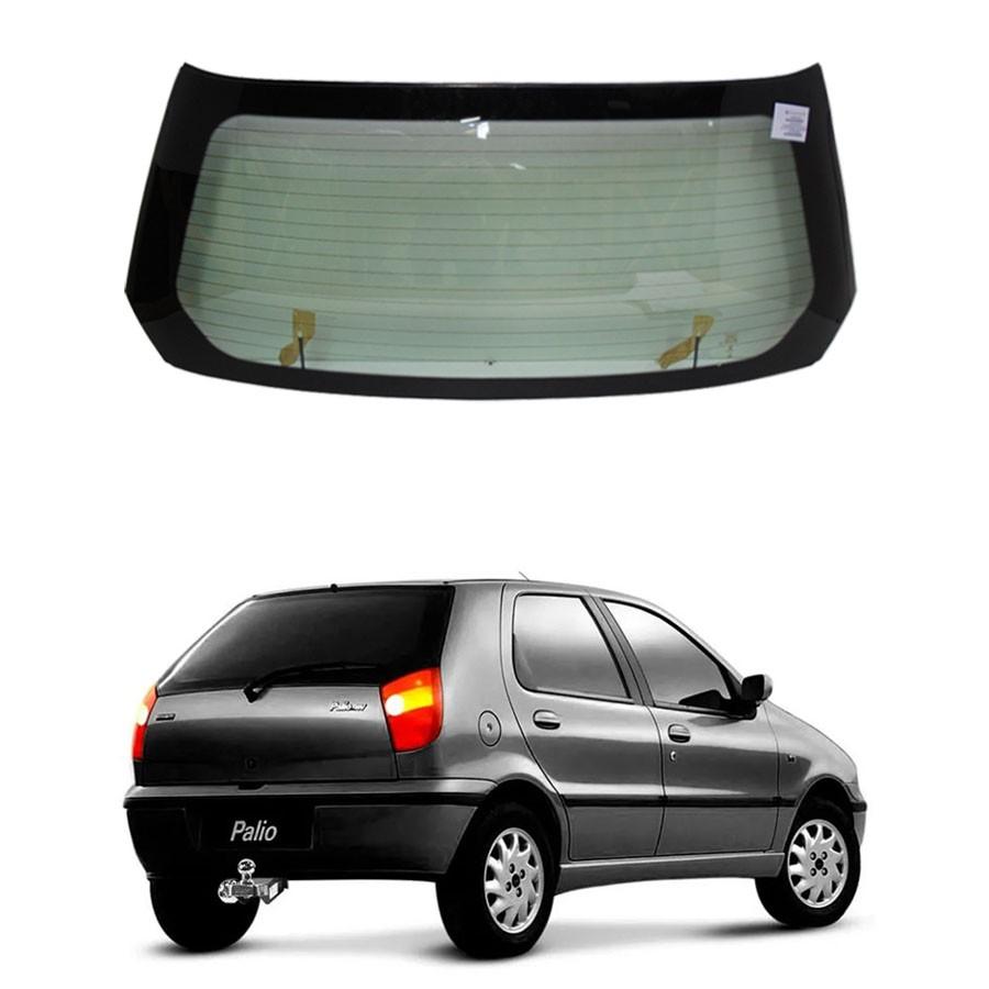 Vidro Traseiro Vigia Fiat Palio 2001 a 2006 Pilkington