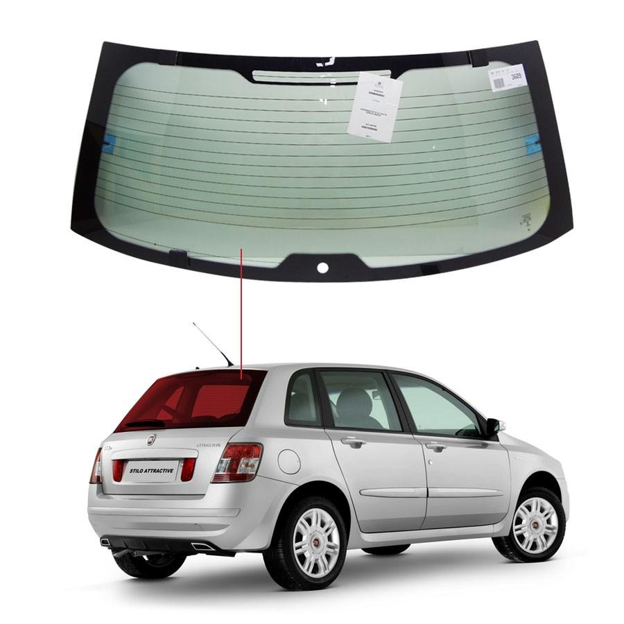 Vidro Traseiro Vigia Fiat Stilo 2001 a 2007 Pilkington