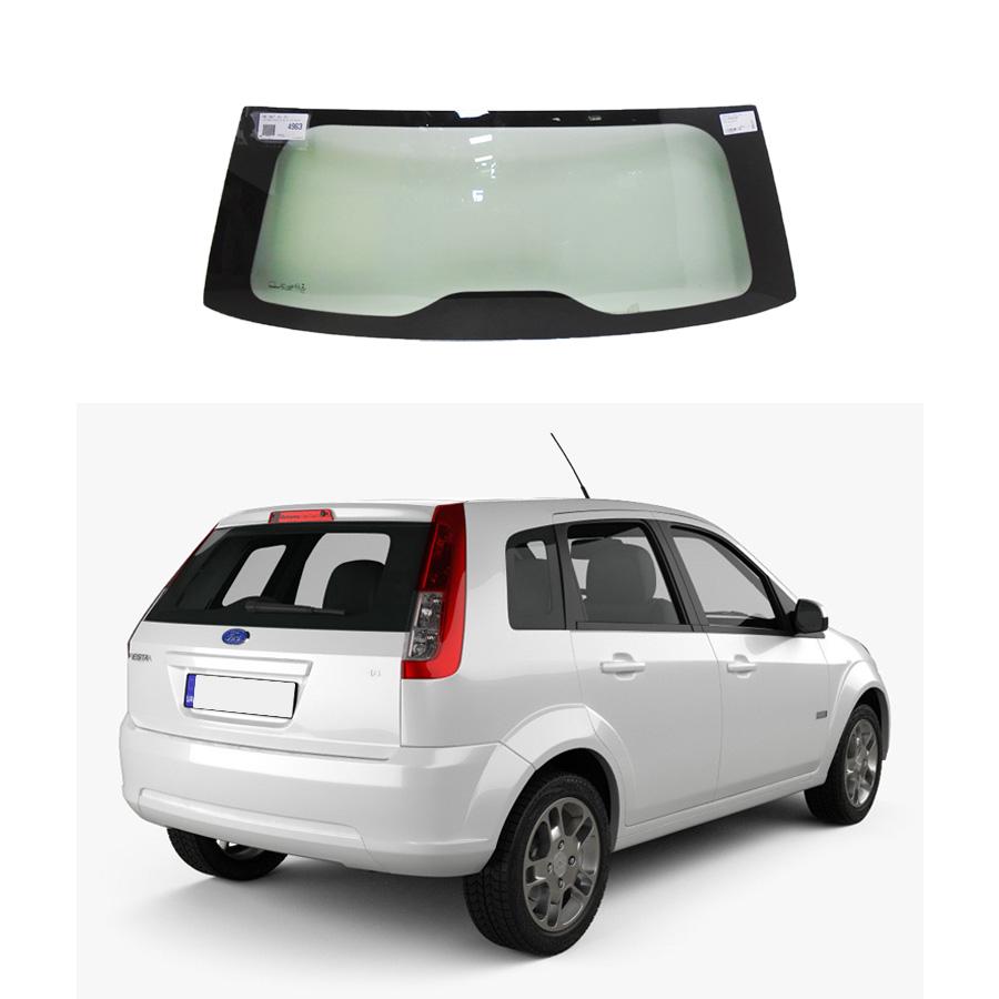 Vidro Traseiro Vigia Ford Fiesta 02/14 Glasstech