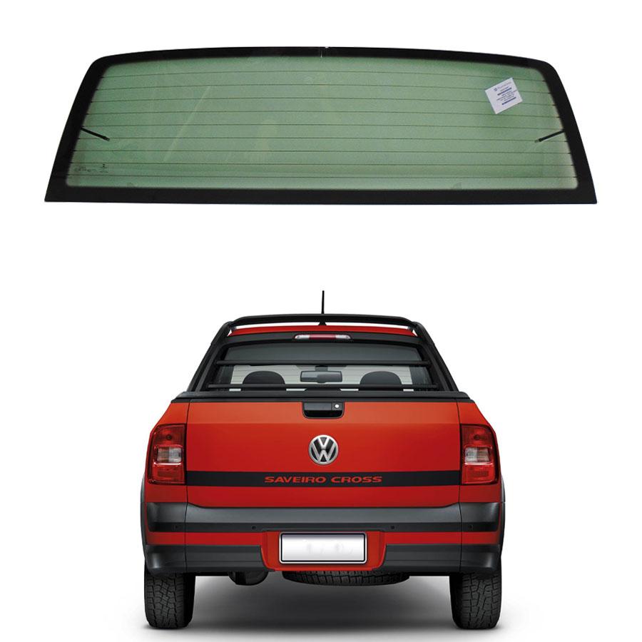 Vidro Traseiro Vigia Inteiriço Volkswagen Saveiro 2014 a 2020 Pilkington