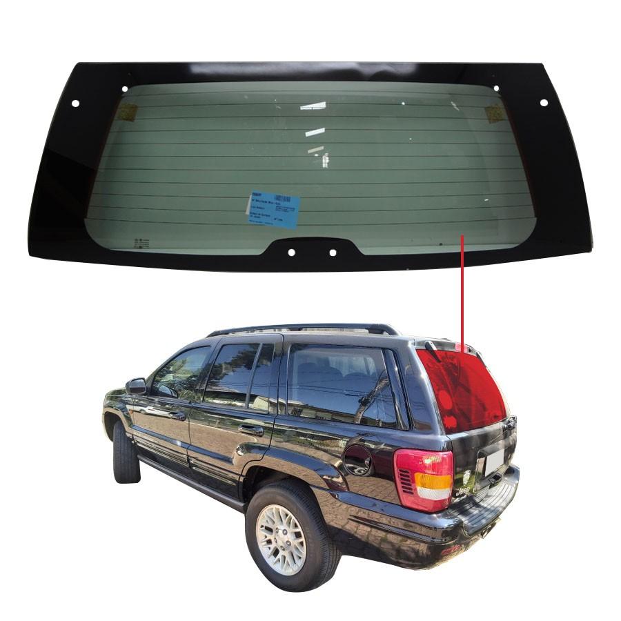 Vidro Traseiro Vigia Jeep Grand Cherokee 99/04 Fuyao
