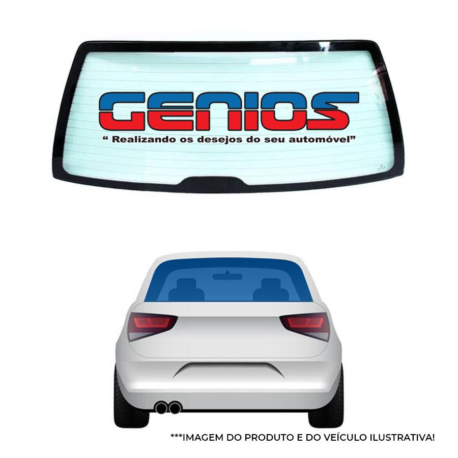 Vidro Traseiro Vigia Liso Fiat Uno 1985 a 2007 Tritemp