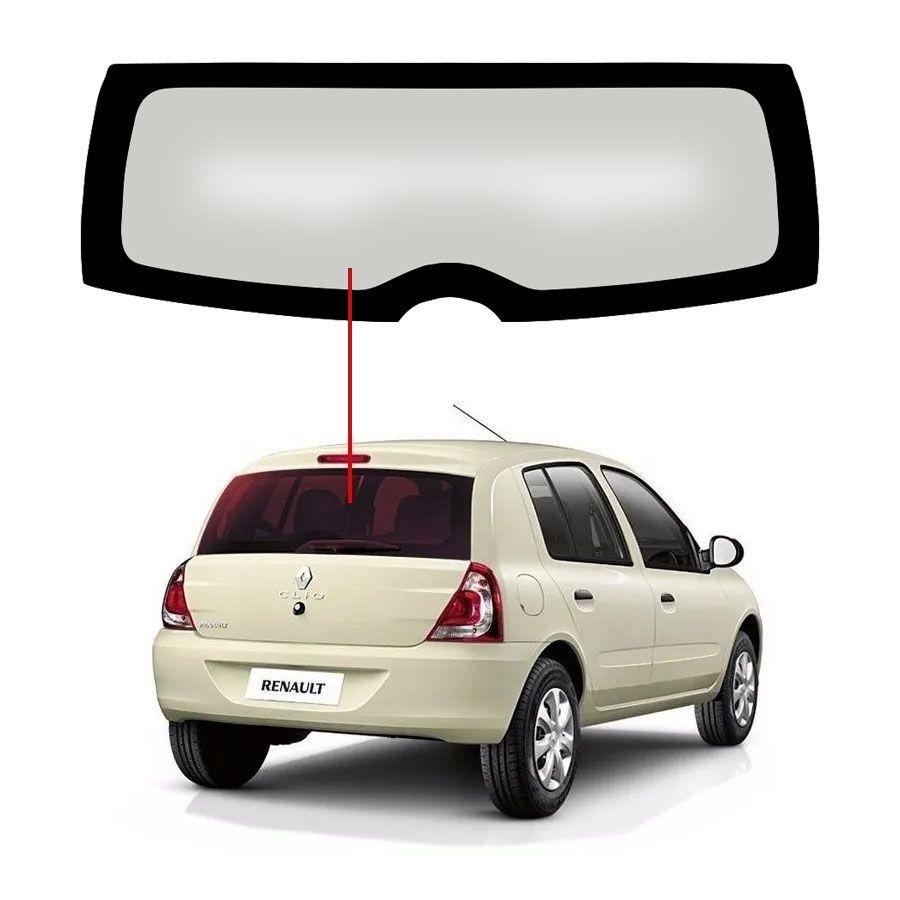 Vidro Traseiro Vigia Liso Renault Clio 13/20 Pilkington