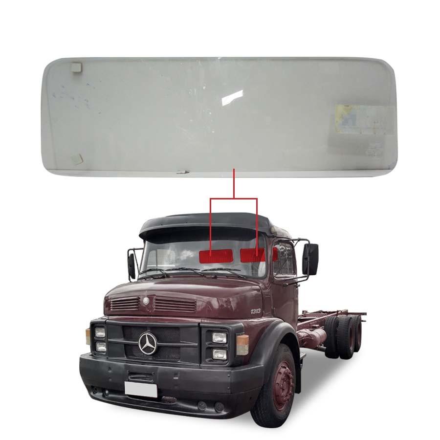 Vidro Traseiro Vigia Mercedes-Benz 1313 73/88 / 1311 73/88 / 1525 73/88 - Cabine Alta Glasstech