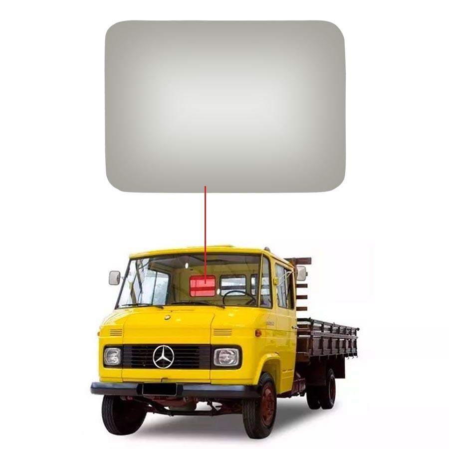 Vidro Traseiro Vigia Mercedes Benz 608 72/87 Vidro Forte