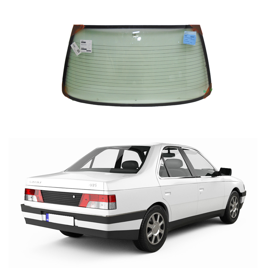 Vidro Traseiro Vigia Peugeot 405 1987 a 1995 Fuyao