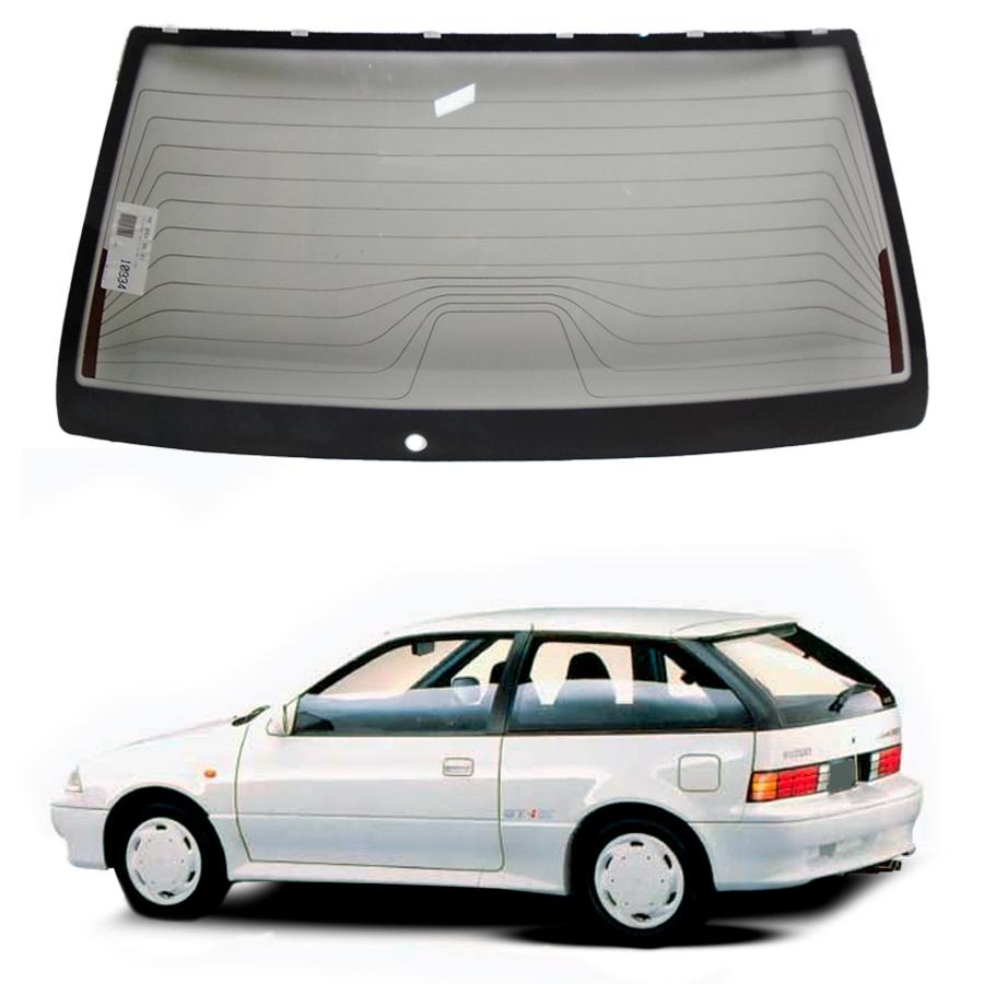 Vidro Traseiro Vigia Suzuki Swift 1995 a 2001 Fuyao