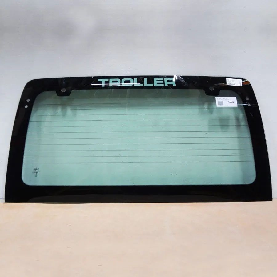 Vidro Traseiro Vigia  Troller T4 99/08 Glasstech