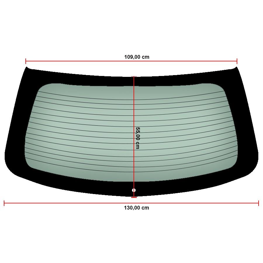Vidro Traseiro Vigia Térmico Volkswagen Gol 05/14 Saint Gobain