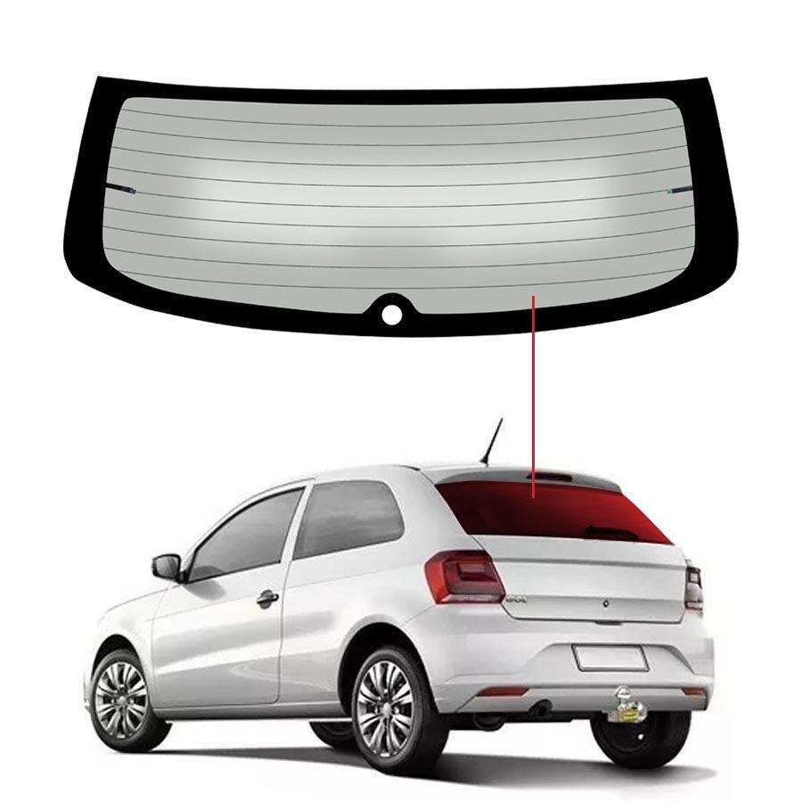 Vidro Traseiro Vigia Volkswagen Gol 08/15 Tritemp