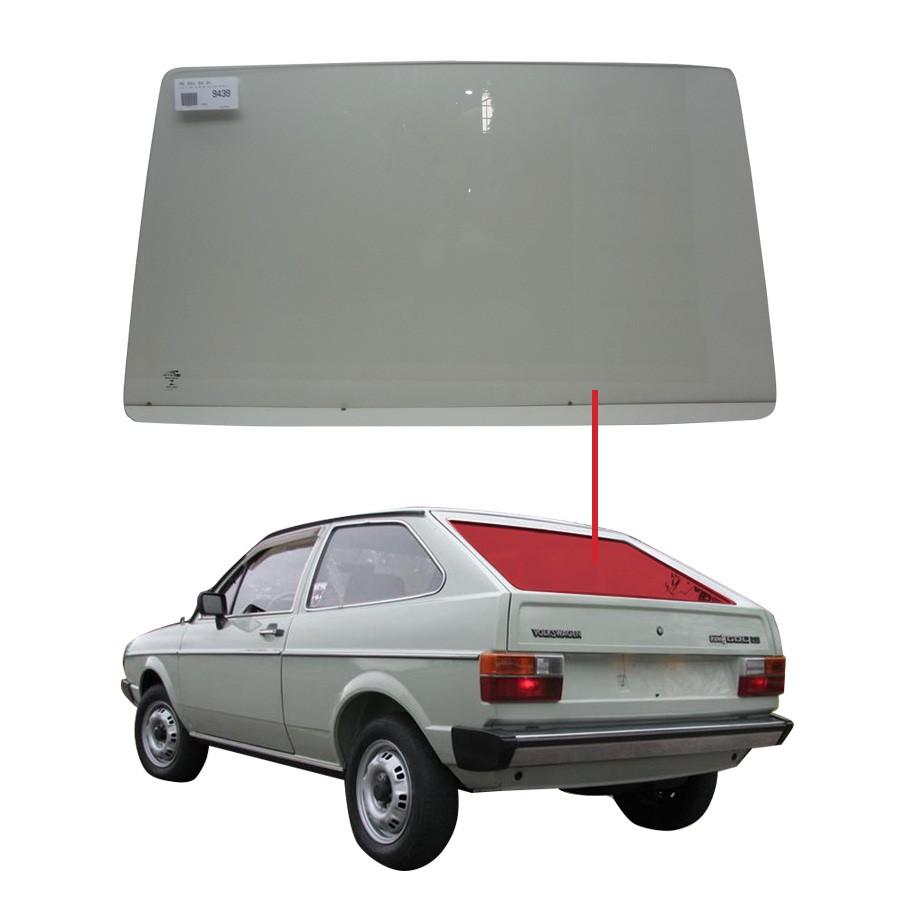 Vidro Traseiro Vigia Volkswagen Gol 80/96 Pilkington